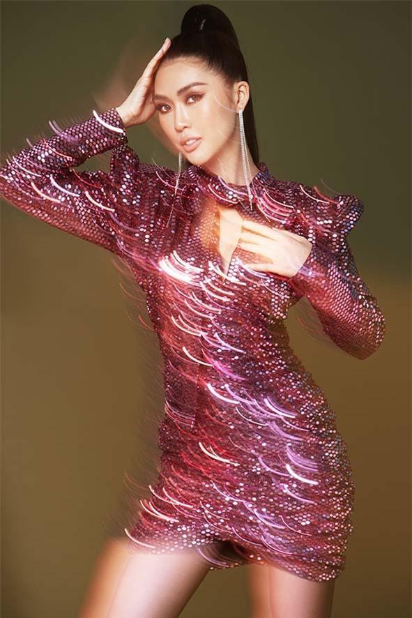 Hoa hậu Tường Linh tung bộ hình khác lạ, quyến rũ và sexy Ảnh 8