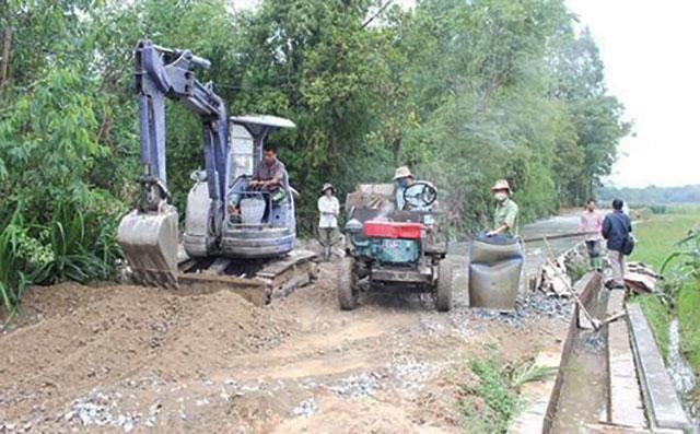 Vĩnh Phúc ưu tiên đầu tư hạ tầng nông nghiệp, nông thôn Ảnh 1