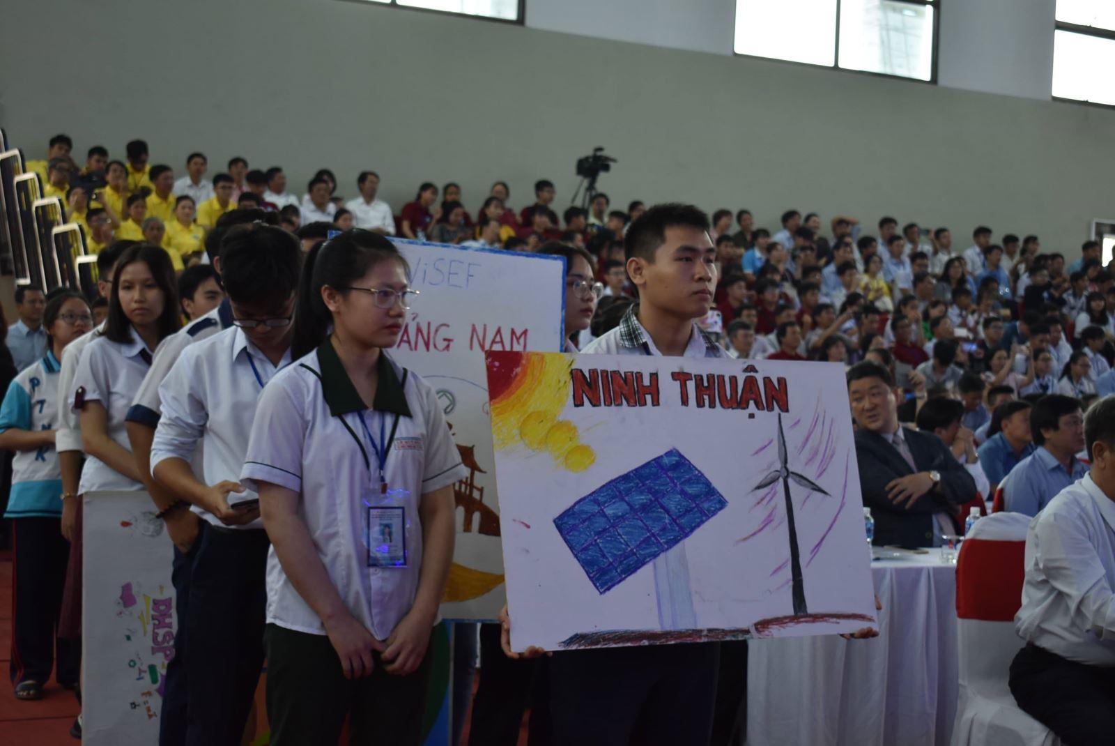 Khai mạc cuộc thi Khoa học kỹ thuật trung học cấp Quốc gia khu vực phía Nam Ảnh 1