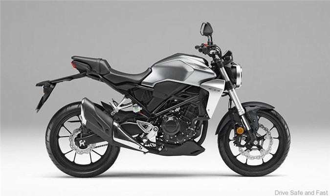 Honda CB250R 2019 thêm màu sơn mới, giá 4.700 USD Ảnh 3