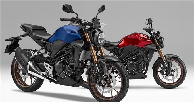 Honda CB250R 2019 thêm màu sơn mới, giá 4.700 USD Ảnh 1