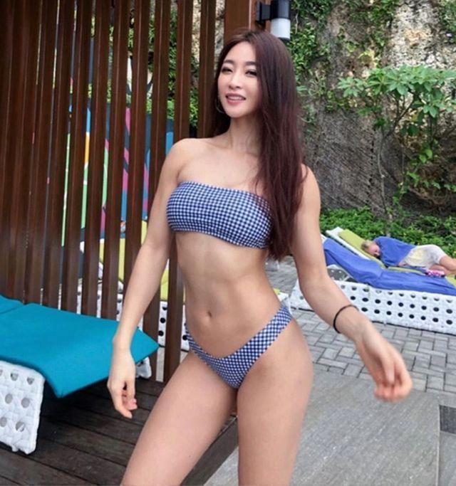 Vẻ đẹp khỏe khoắn nhờ tập luyện của 3 gymer Hàn Ảnh 6