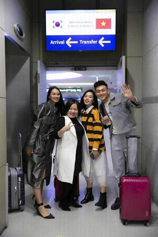 Top 3 The Face Việt Nam 2018 sẵn sàng chinh phục Seoul Fashion Week Ảnh 1