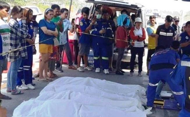 Đau lòng: 5 người Việt Nam tử vong trong vụ tai nạn ở Thái Lan Ảnh 1
