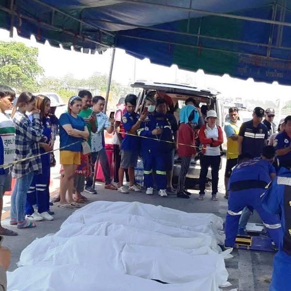 Đau lòng: 5 người Việt Nam tử vong trong vụ tai nạn ở Thái Lan Ảnh 4