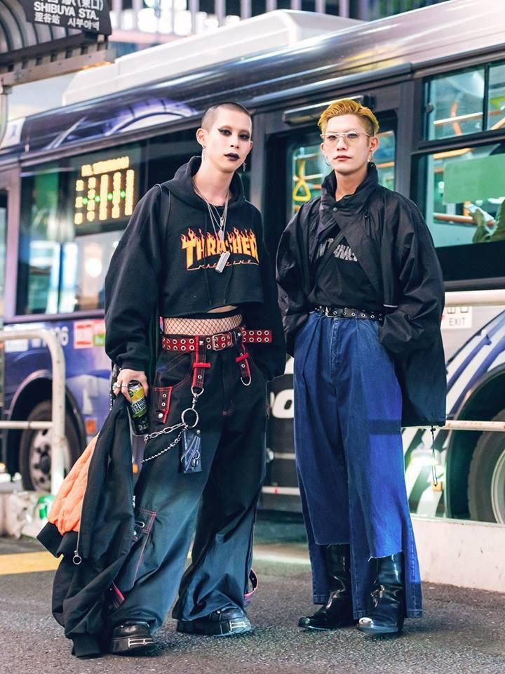 Street style Tokyo - giới trẻ Nhật mặc dị nhưng vẫn hợp xu hướng Ảnh 5