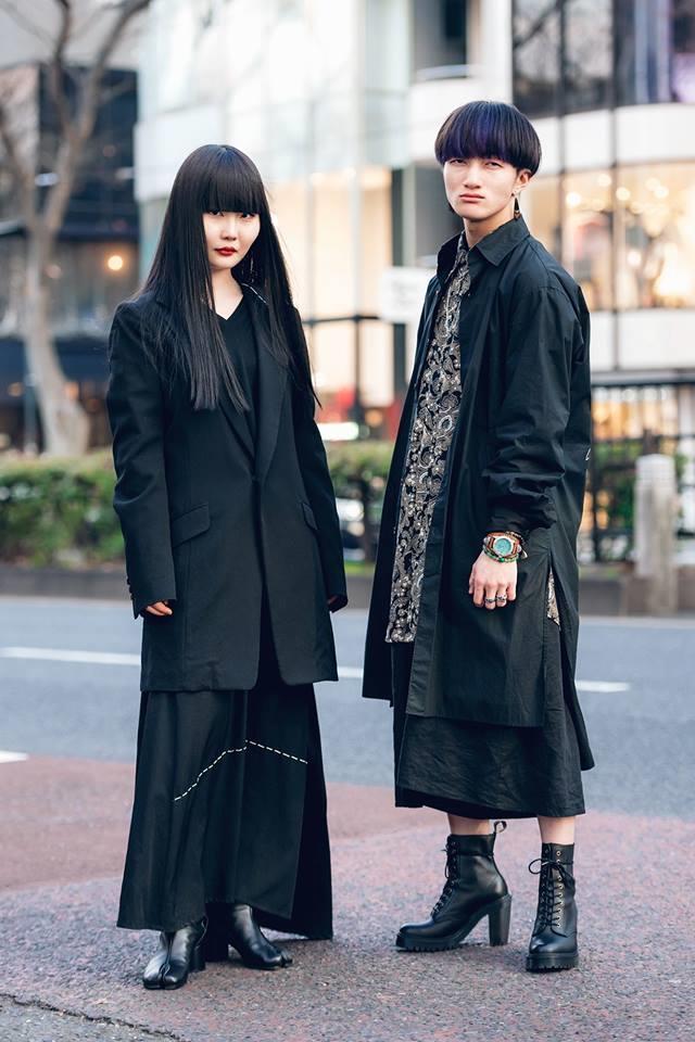 Street style Tokyo - giới trẻ Nhật mặc dị nhưng vẫn hợp xu hướng Ảnh 12