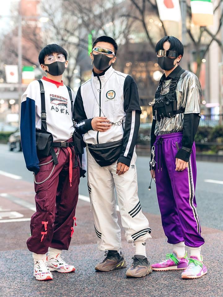 Street style Tokyo - giới trẻ Nhật mặc dị nhưng vẫn hợp xu hướng Ảnh 2