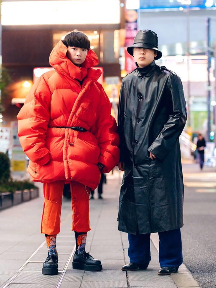 Street style Tokyo - giới trẻ Nhật mặc dị nhưng vẫn hợp xu hướng Ảnh 6