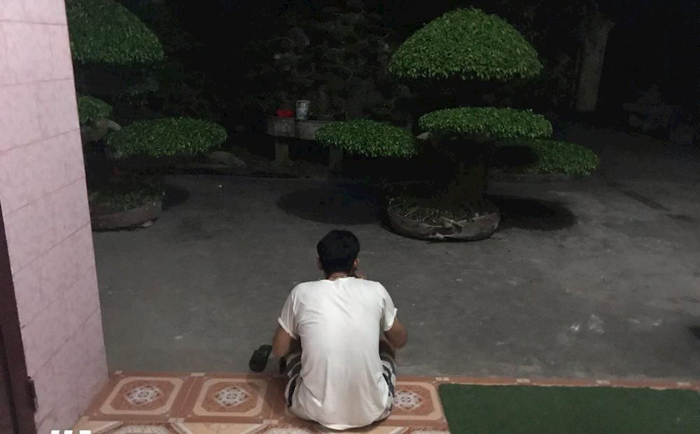 Người đàn ông cầm bát cơm, ngồi suốt 3 tiếng ngắm 2 chậu cây và giao kèo thú vị với vợ Ảnh 1