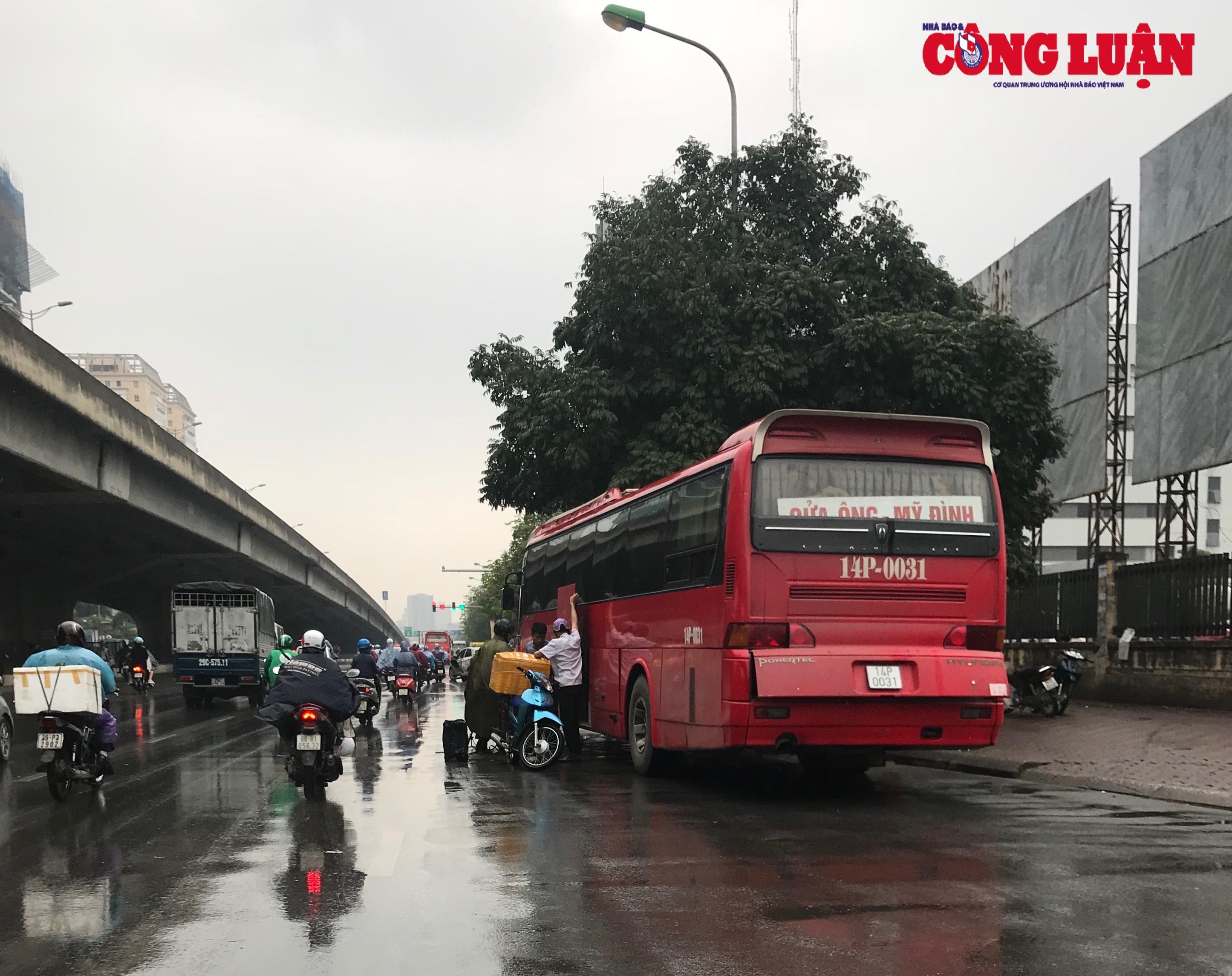 Hà Nội: Xử lý nghiêm xe khách dừng đỗ, di chuyển lòng vòng đón khách tại khu vực Bến xe Mỹ Đình Ảnh 1