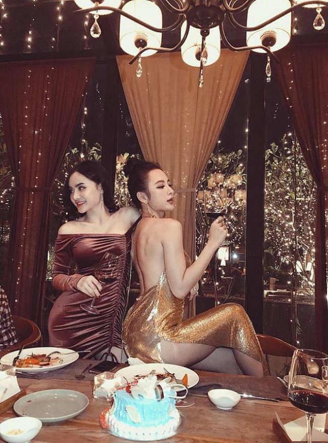 Nhìn gu ăn mặc hở bạo của Angela Phương Trinh và Phương Trang, đúng là chị em ruột có khác! Ảnh 4