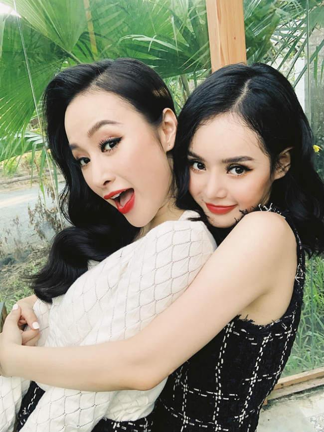 Nhìn gu ăn mặc hở bạo của Angela Phương Trinh và Phương Trang, đúng là chị em ruột có khác! Ảnh 3