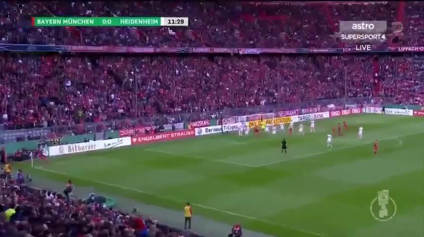 Highlights Cúp Quốc gia Đức: Bayern 5-4 Heidenheim - Báo Tri