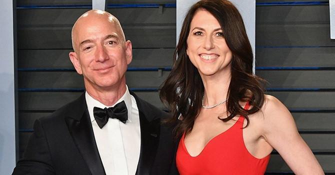 Vợ tỷ phú Jeff Bezos thành người phụ nữ giàu thứ 4 thế giới sau ly hôn Ảnh 1