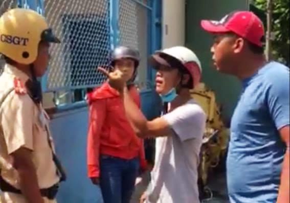 Khởi tố đối tượng tấn công cảnh sát giao thông ở Đồng Nai Ảnh 1