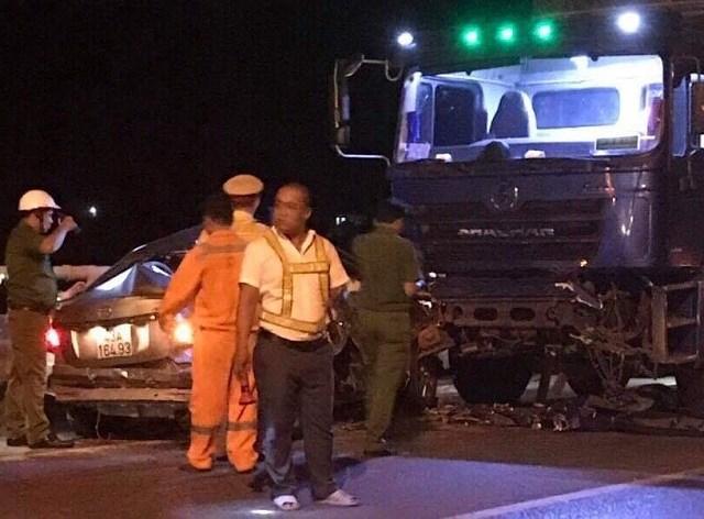 Tai nạn kinh hoàng trước cửa hầm Hải Vân: Lỗi do xe con vượt ẩu Ảnh 1