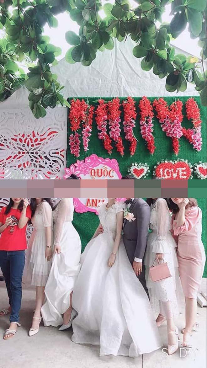 Dàn gái xinh ăn mặc lồng lộn đi đám cưới gây tranh cãi Ảnh 1