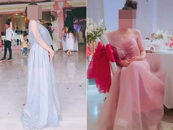 Dàn gái xinh ăn mặc lồng lộn đi đám cưới gây tranh cãi Ảnh 4