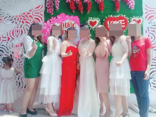 Dàn gái xinh ăn mặc lồng lộn đi đám cưới gây tranh cãi Ảnh 2