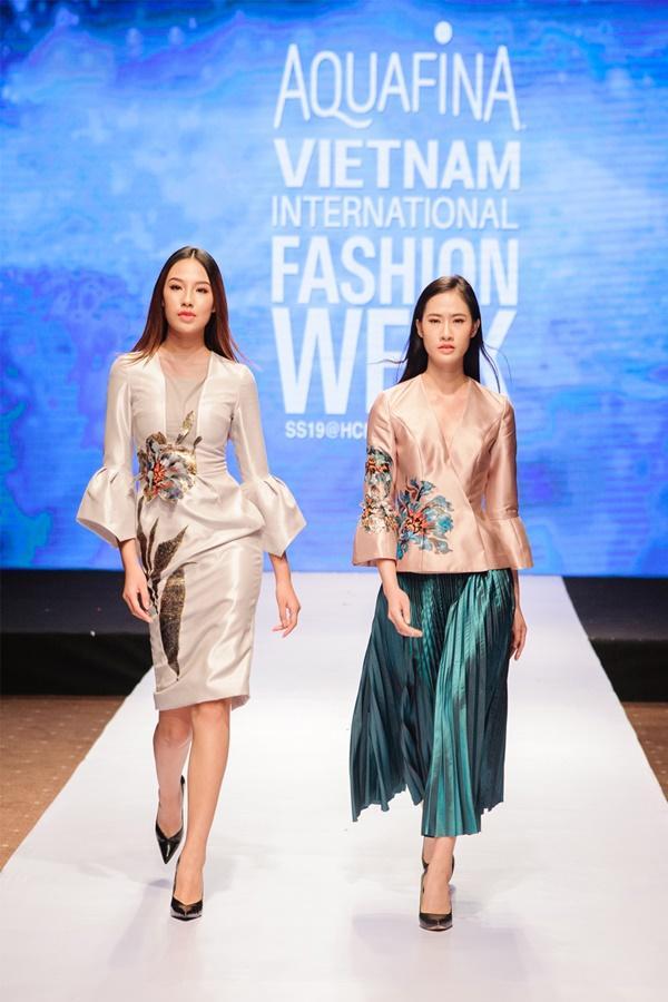 BST mang đậm sự giao thoa giữa hội họa và thời trang 'trình làng' AVIFW Xuân Hè 2019 Ảnh 5