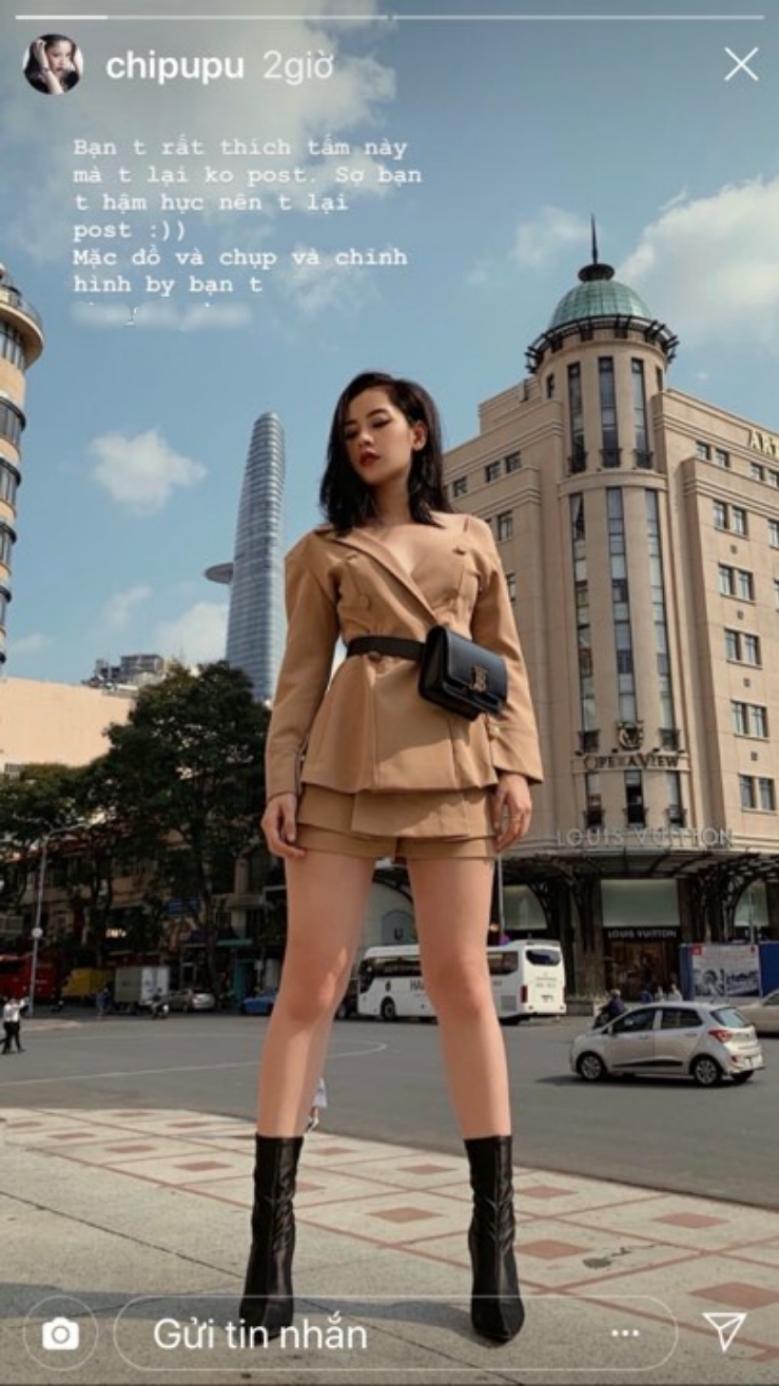 Chi Pu 'thả rông' vòng một xuống phố - nóng hơn cả trời Sài Gòn vượt ngưỡng Ảnh 2