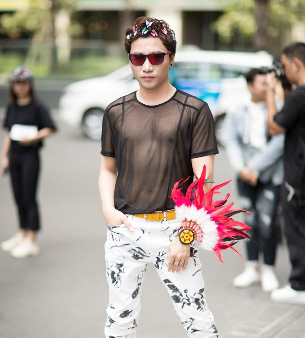 Tín đồ thời trang Sài Gòn mặc quái dị thậm chí phản cảm nhưng cũng đáng suy ngẫm Ảnh 10