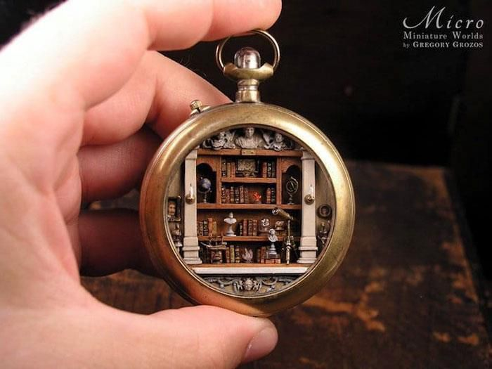 Người nghệ sĩ và 'thế giới tí hon' trong những chiếc đồng hồ đã hỏng Ảnh 8