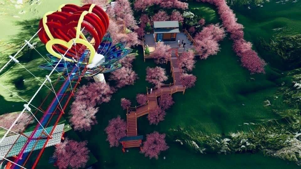 Mộc Châu sắp có cầu kính tình yêu 5D, tạo 30 hiệu ứng khác nhau Ảnh 2
