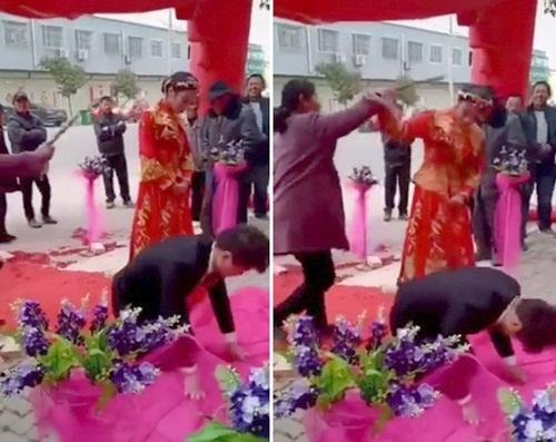 Cô dâu bị nhà chồng dùng roi đánh túi bụi ngay trong lễ cưới Ảnh 1