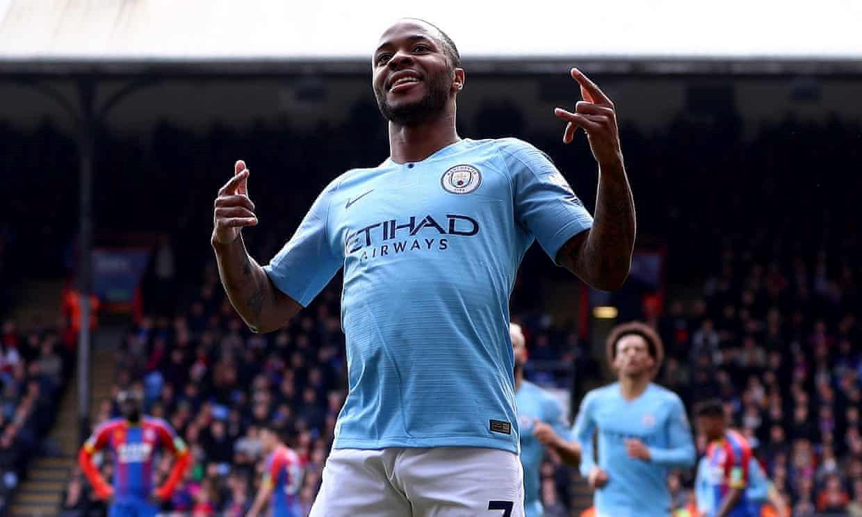 Raheem Sterling lập cú đúp, Man City thắng dễ Crystal Palace Ảnh 1