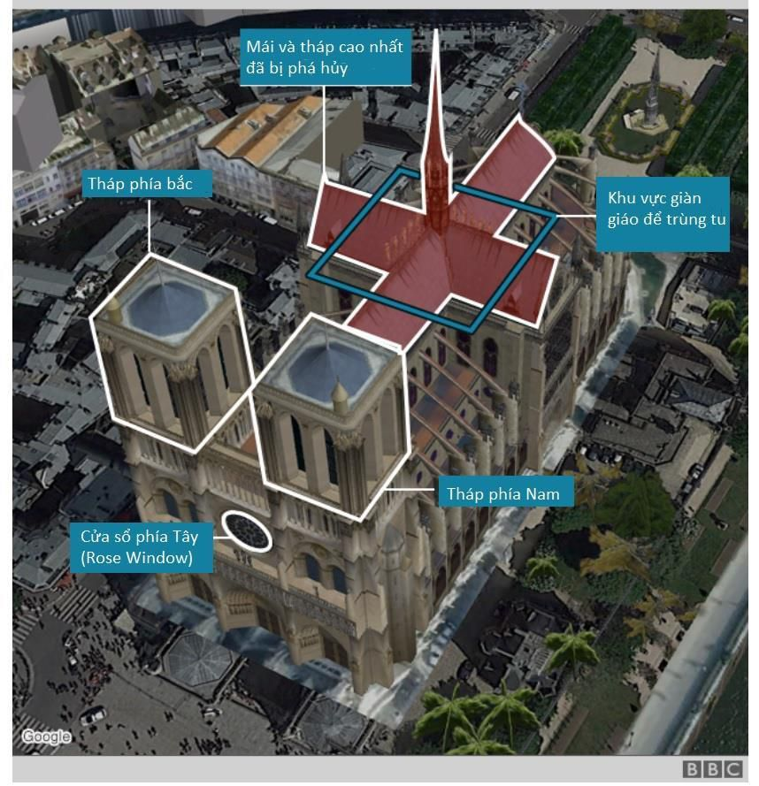 Nhà thờ Đức Bà Paris bốc cháy dữ dội Ảnh 4