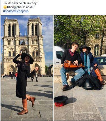 Hàng loạt giới trẻ Việt Nam đăng ảnh check-in Nhà thờ Đức Bà Paris, bày tỏ sự nuối tiếc trước vụ cháy kinh hoàng Ảnh 5