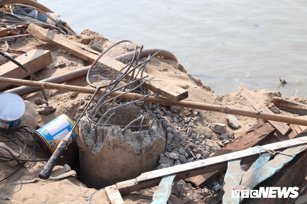 Bờ sông sạt lở, nuốt chửng nhiều nhà dân ở Cần Thơ Ảnh 6