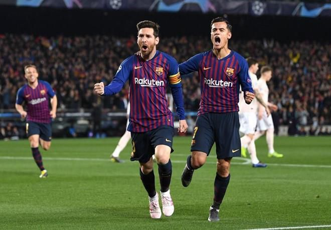 Messi phá dớp không ghi bàn ở tứ kết Champions League Ảnh 1