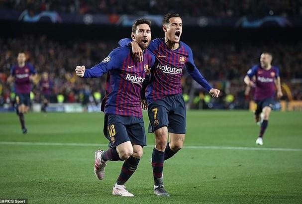 Barcelona 3 - 0 Manchester United: Sức mạnh 'người khổng lồ' Ảnh 1