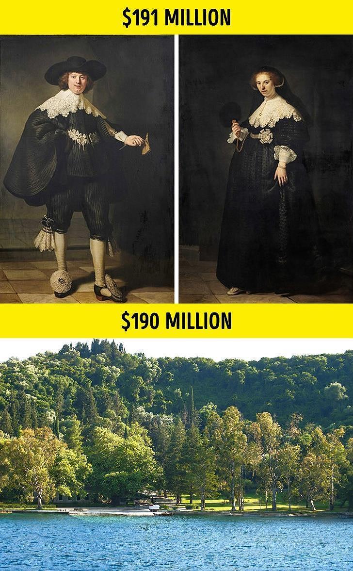 Giá trị thực sự của 10 bức tranh triệu USD nổi tiếng thế giới Ảnh 7