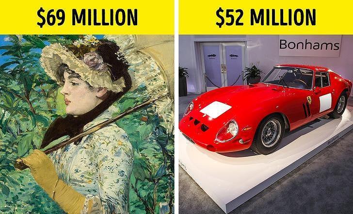 Giá trị thực sự của 10 bức tranh triệu USD nổi tiếng thế giới Ảnh 1