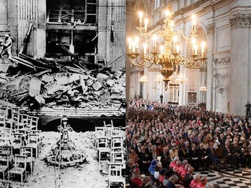 7 kiến trúc nổi tiếng thế giới đã được xây dựng lại sau khi bị khá hủy hoàn toàn Ảnh 4