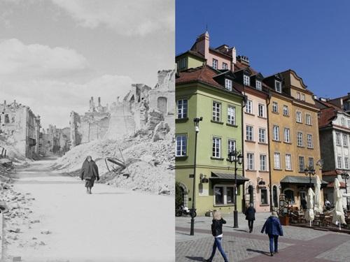 7 kiến trúc nổi tiếng thế giới đã được xây dựng lại sau khi bị khá hủy hoàn toàn Ảnh 5