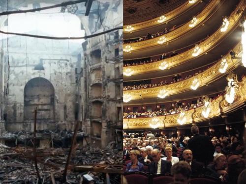 7 kiến trúc nổi tiếng thế giới đã được xây dựng lại sau khi bị khá hủy hoàn toàn Ảnh 6