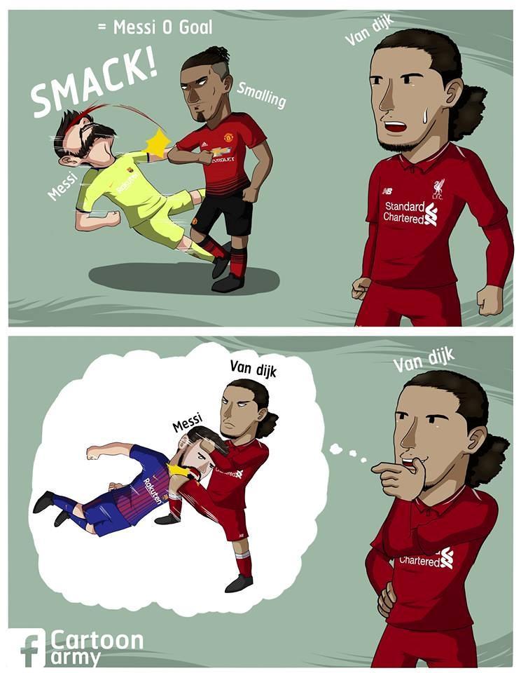 Biếm họa 24h: Làng bóng đá cuống cuồng chạy trốn 'thánh ám' Drake Ảnh 6