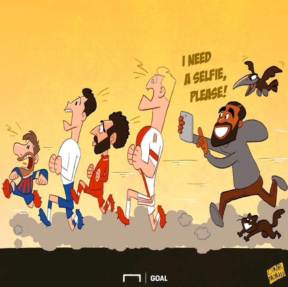 Biếm họa 24h: Làng bóng đá cuống cuồng chạy trốn 'thánh ám' Drake Ảnh 1