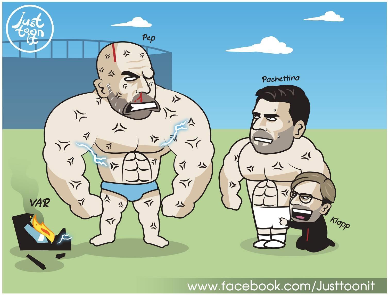 Biếm họa 24h: Làng bóng đá cuống cuồng chạy trốn 'thánh ám' Drake Ảnh 5