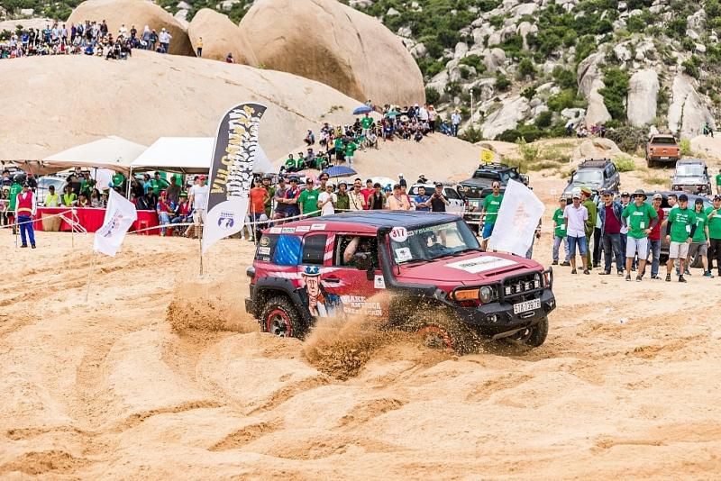 Tay đua nổi tiếng Siong Loo: Sa mạc cát Mũi Dinh quá đặc biệt để thiết kế đường đua… Ảnh 3