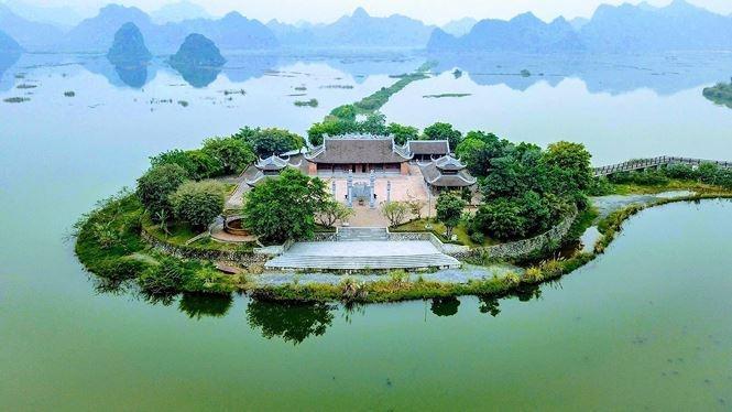 Chùa Tam Chúc - nơi diễn ra đại lễ Vesak 2019 Ảnh 1