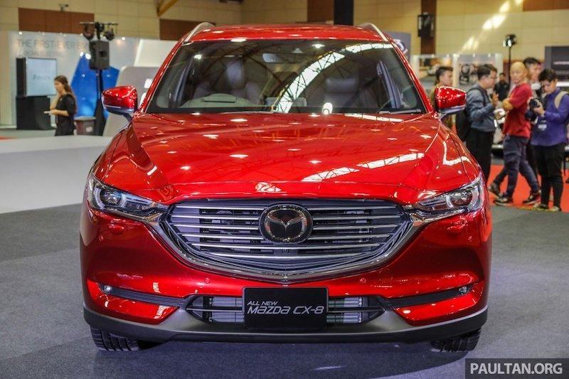 Bất ngờ với thông số kỹ thuật của Mazda CX-8, SUV 7 chỗ sắp bán tại Việt Nam Ảnh 2