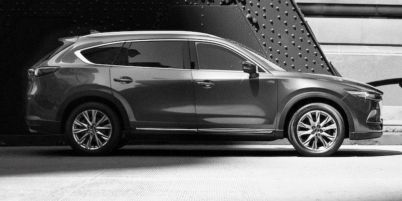 Bất ngờ với thông số kỹ thuật của Mazda CX-8, SUV 7 chỗ sắp bán tại Việt Nam Ảnh 4