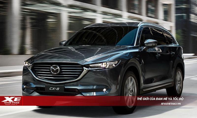 Bất ngờ với thông số kỹ thuật của Mazda CX-8, SUV 7 chỗ sắp bán tại Việt Nam Ảnh 1