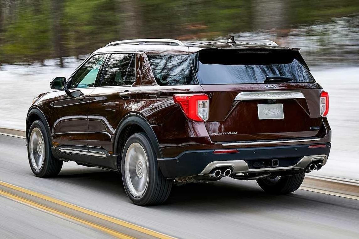 Ford Explorer 2020 chốt giá, đắt nhất 64.610 USD Ảnh 2